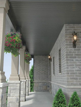 Soffit and custom capping