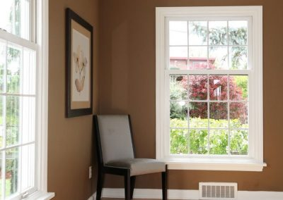 Beautiful hung windows